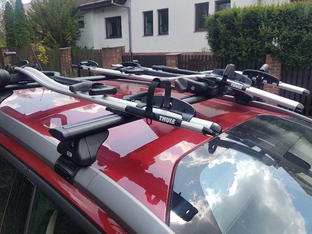 Uchwyt rowerowy na dach, Thule Proride 591, 598 wynajmę, wypożyczalnia