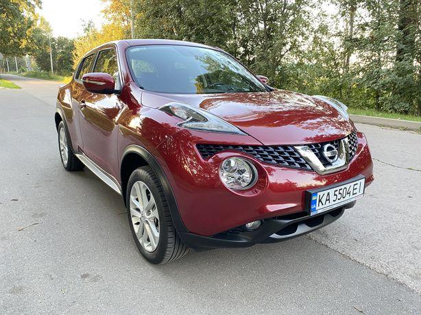 Nissan Juke. Офіційний автомобіль.