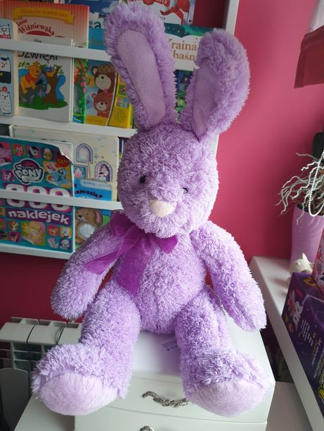 Przytulanka maskotka królik Beverly Hills Teddy Bear Company