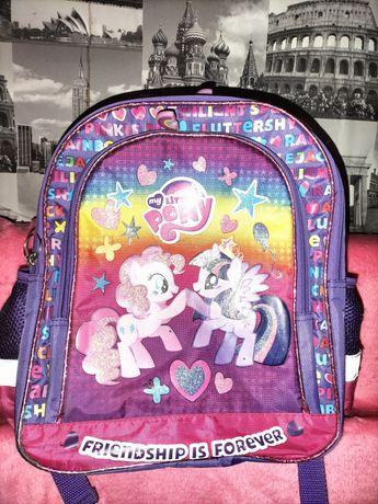Plecak z wizerunkiem my little pony oraz gratisy