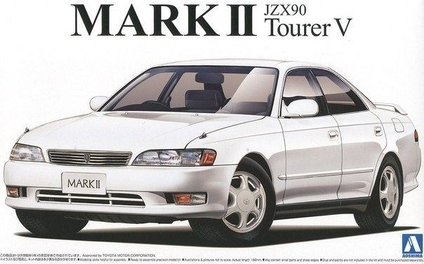 1:24 Toyota Mark II Tourer V JZX90 – Aoshima, JDM, Fujimi, Hasegawa