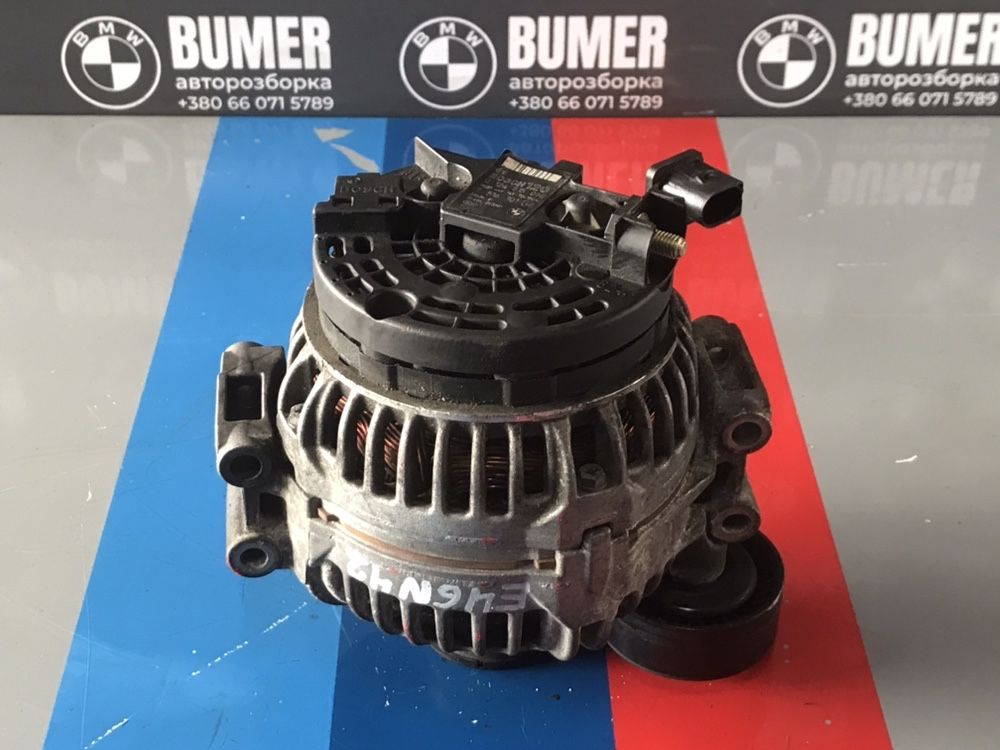 Генератор БОШ 120 Ампер БМВ 3 серии Е46 н42 н46 N42B20 N46B18 Шрот