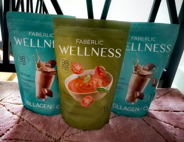 Zestaw Wellness : Koktajl proteinowy i zupa pomidorowa proteinowa