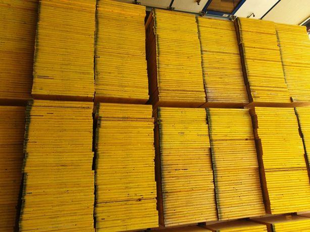 płyta nieokuta trójwarstwowa szalunkowa sklejka 3w II gatunek żółta