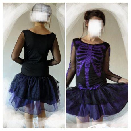 Платья женские карнавальные 44-52 р Хэллоуин Halloween карнавал