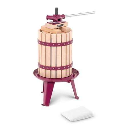Prensa para vinho - 6 l - madeira Novo na embalagem original