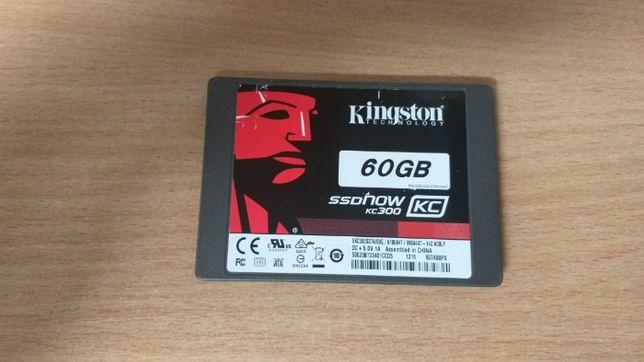 Винчестер / жесткий диск SSD Kingston 60 Gb kc300 нерабочий.