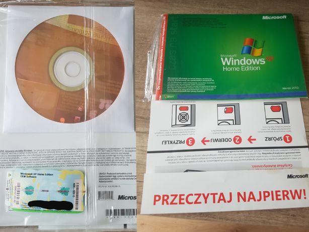 Nowy Windows XP Home Edition OEM naklejka