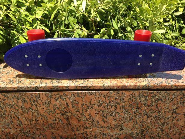 Skate Coleção Antigo Português Azul (NOVO)