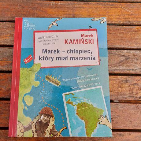 """Książka dla młodzieży """"Marek - chłopiec, który miał marzenia"""""""