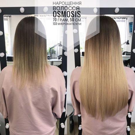 Нарощування волосся 2000, нарощення волосся