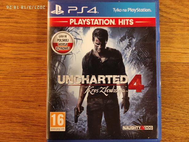 Uncharted 4 Kres złodzieja Dubbing PS4 Igła