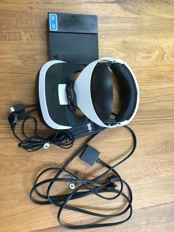 PS4 VR okulary (mało używane, z naklejkami ochronnymi)