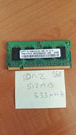 Várias Memórias DDR2 para Portátil