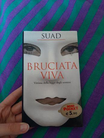 Książka po włosku, włoska, Bruciata viva Suad