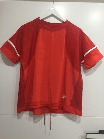 Bluzka czerwona NIKE