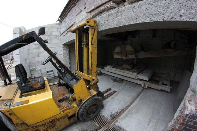 Cięcie kamienia + Poniemiecki dom do remontu.