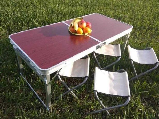 Стол для пикника 4 стула