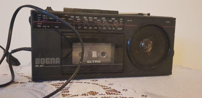 Radiomagnetofon Bogna rm-413 Unitra prl vintage loft