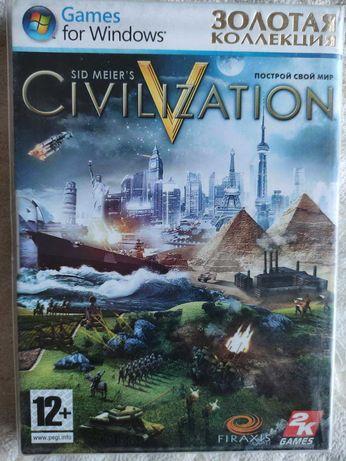 Игра Sid Meier's Civilization V на DVD-диске