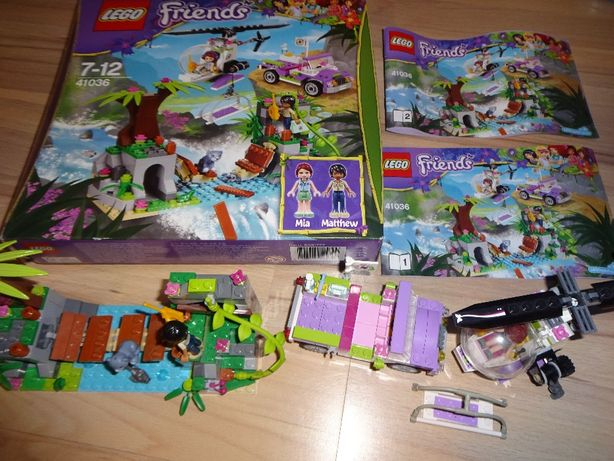 okazja - - LEGO Friends 41036 na ratunek niedżwiadka KLOCKI