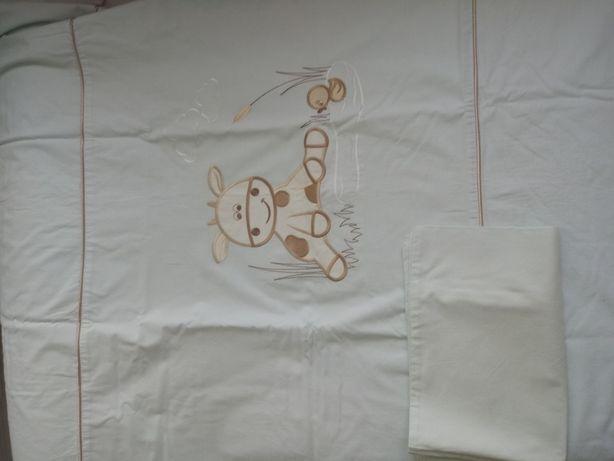Pościel dziecięca haftowana