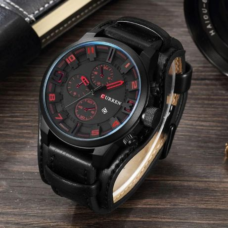 Мужские кварцевые часы Curren 8225 оригинал!!! 4 цвета!!!