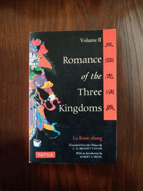 "[NOVO] Livro ""Romance of the Three Kingdoms"" (Lo Kuan-Chung)"
