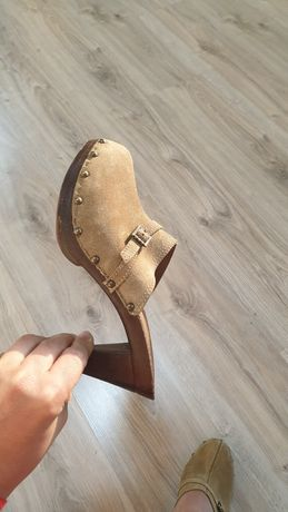 Шлёпанцы сандали босоножки Италия натуральная кожа