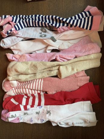 Rajstopy niemowlece 8sztuk