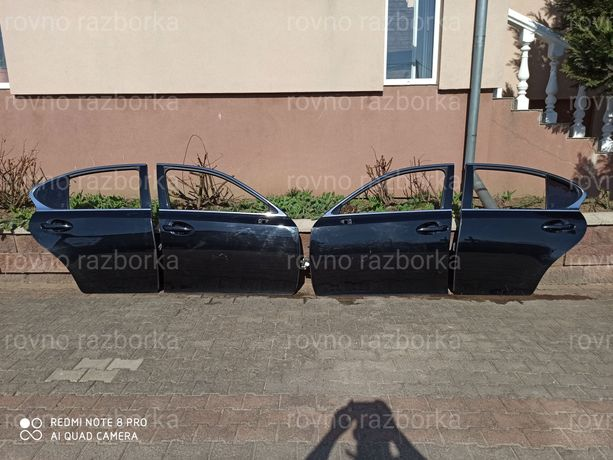 Lexus GS IV 2012-  Двери комплектные в хорошем состоянии без дефектов