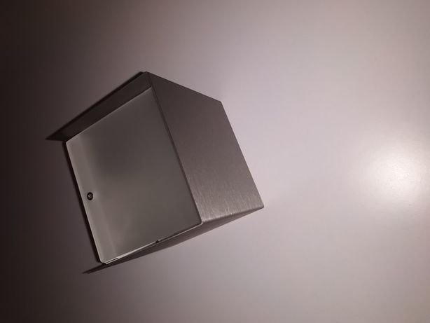 Светильник настенный Nowodvorski Cube G9 Steel