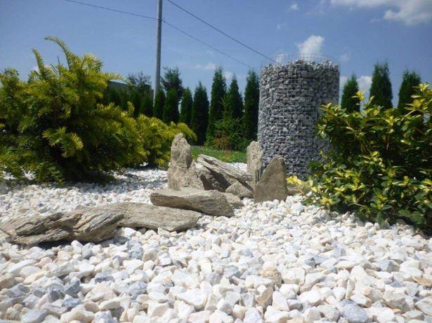 Grys biały biała Marianna kamień naturalny darmowa dostawa + głaz