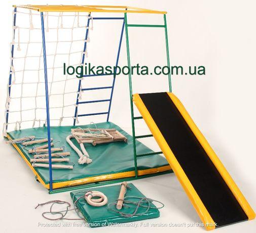 Горка, Игровая площадка, детский спортивный комплекс для двора