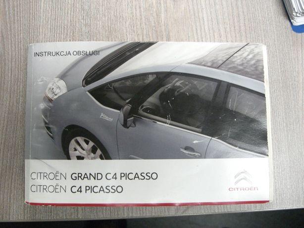 Instrukcja obsługi Citroen C4 Picasso w języku polskim