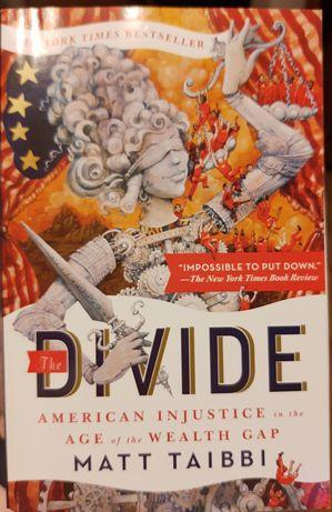 The Divide - Matt Taibbi - American Injustice - książka po angielsku