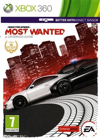 need for speed most wanted xbox360 NOWA