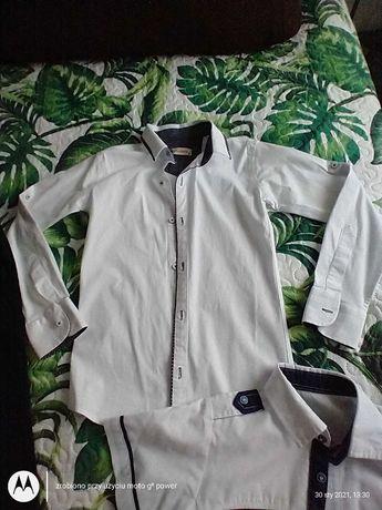 Sprzedam koszule i spodnie dla chłopca
