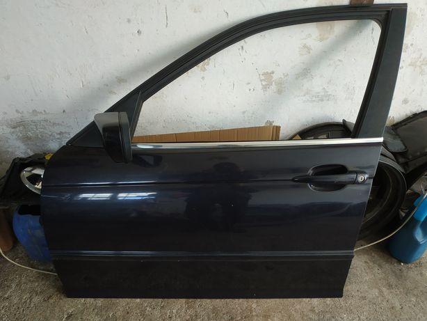 Drzwi kierowcy bmw e46 lewy przod zamek poduszka lusterko