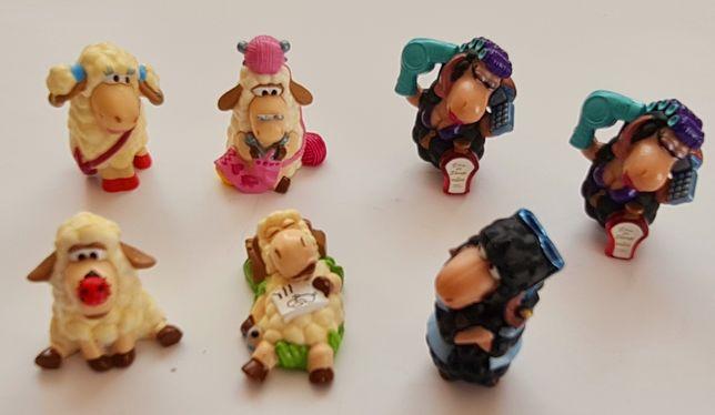Figurki Kinder niespodzianka Chaos na łące Dobre Dzikie Owce + Gratisy
