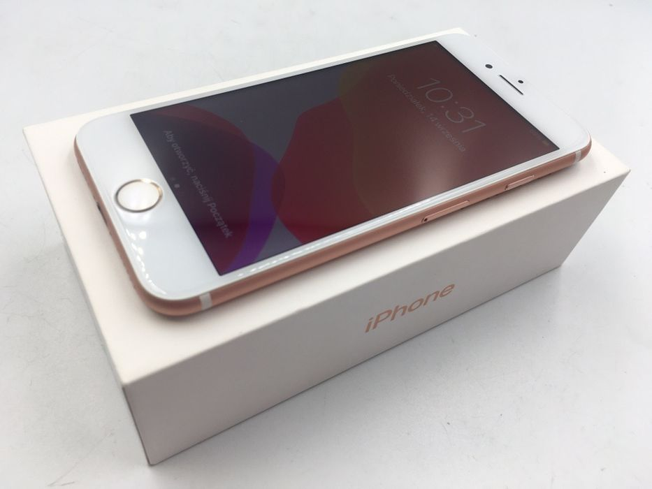 iPhone 7 32GB ROSE GOLD • NOWA bateria • GWAR 1 MSC • AppleCentrum Wrocław - image 1
