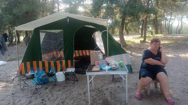 Продам палатку Четырех месная