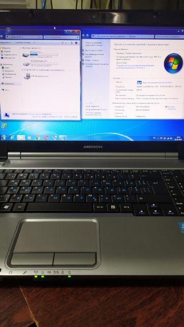 Ноутбук MEDION E5218- 2 ядра .Из Европы !!!