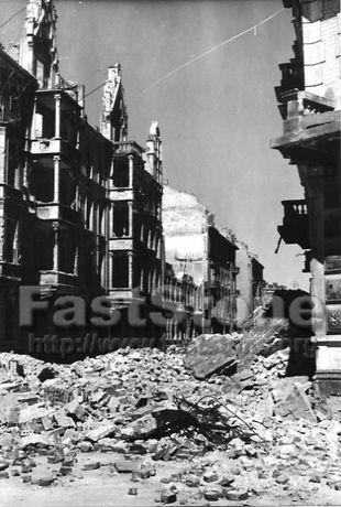 zdjęcia zniszczona Warszawa
