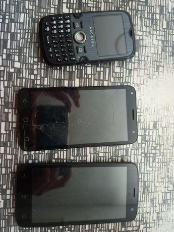 8 telemóveis smartphone para peças ou para arranjar