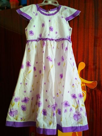 Плаття нарядне з натуральної тканини