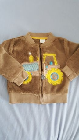 Super ciepła bluza dla chłopca r. 80