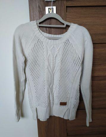 Jasny sweterek r. XS - WYPRZEDAŻ