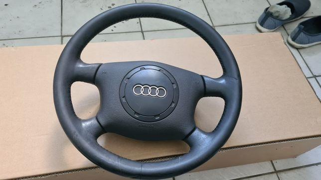 Kierownica skórzana Audi A3 8L Super Stan