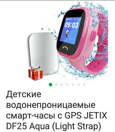 Смарт годинник,водонепроникаючий, JETIX DF 25 aqua(Light Strap)